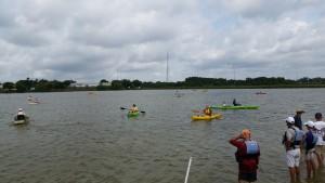 Kayaking During Red Tide