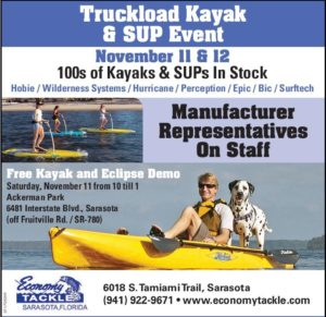 truckload kayak and stand up paddle board event