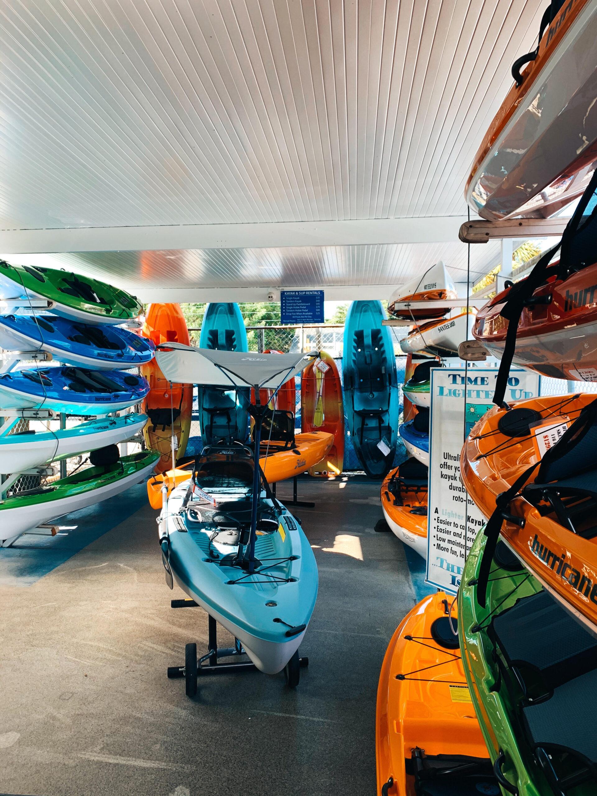 Lightweight Fishing Kayak